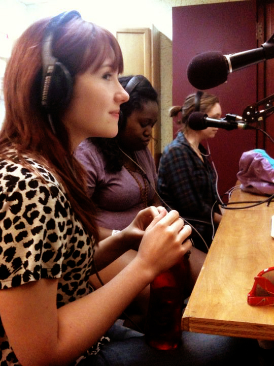Demi Anter Sina Dailey and Teagan Miller on Ted Coe's KCSB show